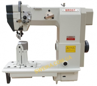 Колонковая швейная машина BROST 9910D с приводным роликом и прямым сервомотором