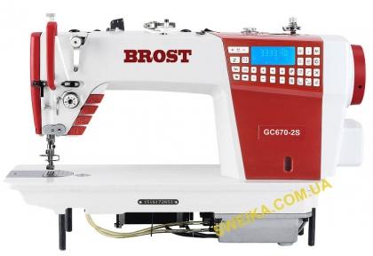Компьютеризированная промышленная швейная машина с шаговым мотором BROST GC670-2S