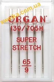 Иглы для эластичных тканей ORGAN Super Stretch №65