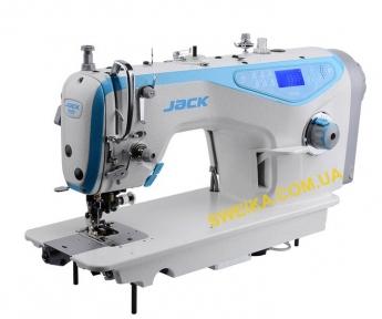 Jack JK-5559G-W Промислова швейна машина з автоматичними функціями і обрізанням краю