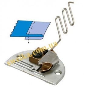 Окантователь DAYU 132 (2 складання) з відкритими зрізами для важких тканин