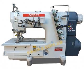 Промислова розпошивальна машина BROST BR 562NG-01CB з прямим серводвигуном