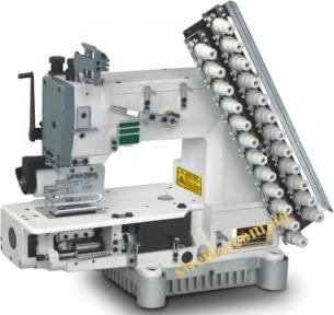 Восьмиигольная швейная машина для пришивания лампасов MAREEW VC008