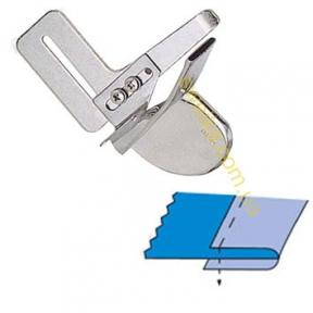 Окантователь А4 2 сложения с открытыми срезами для косой бейки.