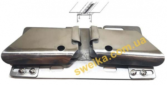 Пристрій для вшивання блискавки KHF-44 на 2-х голкової машині