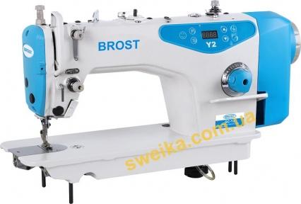 Профессиональная швейная машина BROST Y2 с автоматической обрезкой ниток