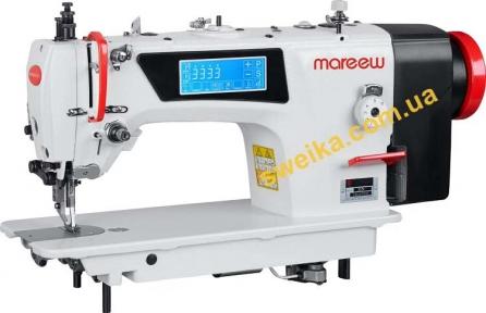 Прямострочная беспосадочная швейная машина с шагающей лапкой MAREEW X5