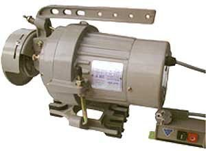 Электродвигатель для промышленной швейной машины.