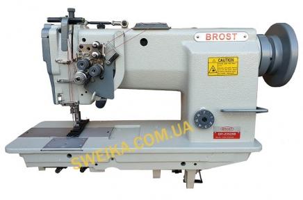Беспосадочная двухигольная швейная машина BROST BR-20528B