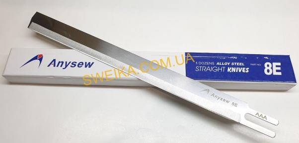Лезо для шабельного розкрійного ножа 8 Е (Легована сталь) Anysew
