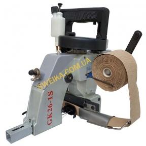 Мішкозашивочна машина GK 26-1S для окантовки стрічкою