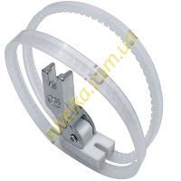 Лапка с тефлоновой подпружиненной подошвой и кольцам