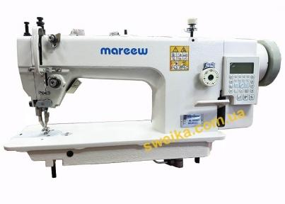 Одноголкова швейна машина з крокуючою лапкою і автоматичними функціями MAREEW ML0303D3