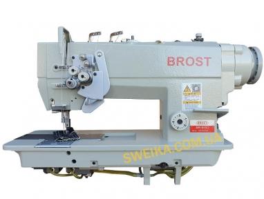 Двоголкова швейна машина з відключенням голок і прямим приводом BROST BR-845D