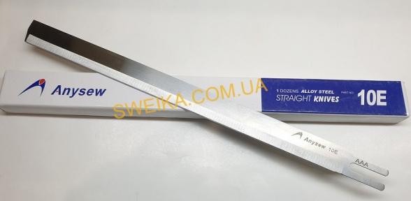 Лезо на шабельний (вертикальний) розкрійний ніж 10Е (Легована сталь) Anysew