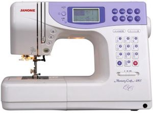 Janome Memory Craft 4900