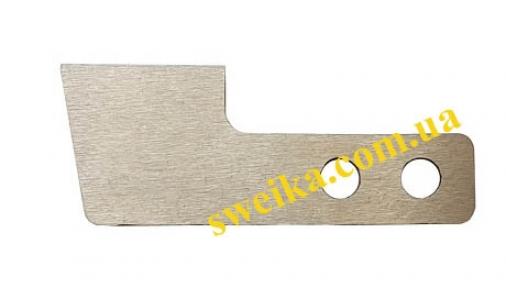 Нижний нож для коверлока Minerva, Singer, Pfaff