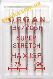 Голки ORGAN Super Stretch HAx1SP Асорті